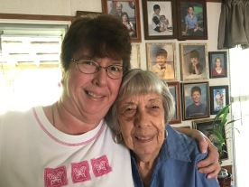 Tracy and Aunt Margie (known as Cookie by her loved ones)